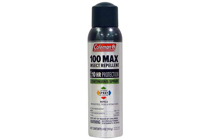 Coleman 100 Max 100% DEET Insect Repellent Spray