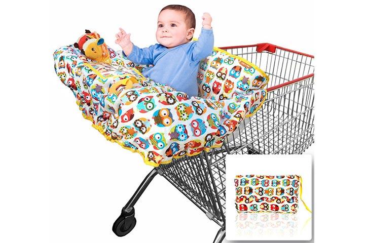 Croc N Frog Shopping Cart + High Chair Cover