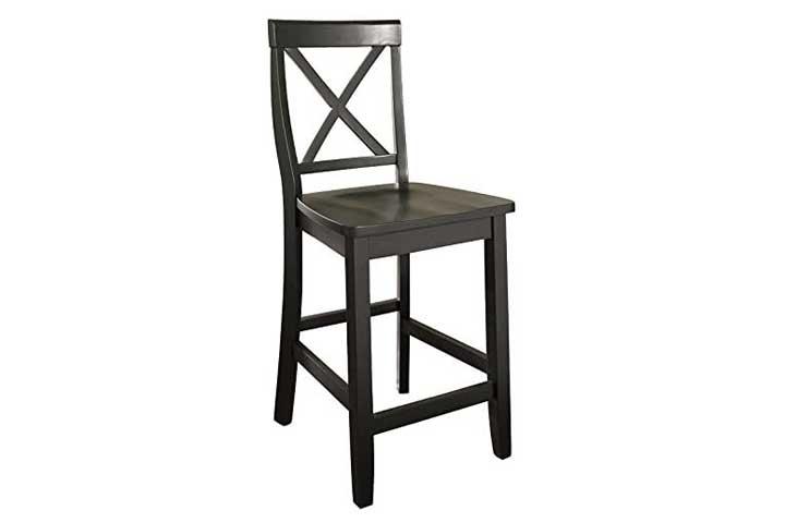 Crosley Furniture X-Back Bar Stool