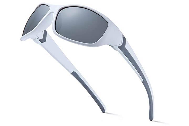Deafrain Polarized Sports Sunglasses