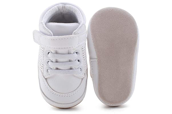 Delebao Baby Non-Slip First Walking Shoes
