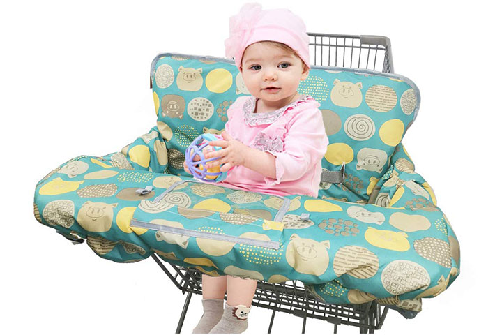 Dodo Nici Shopping Cart Cover For Baby
