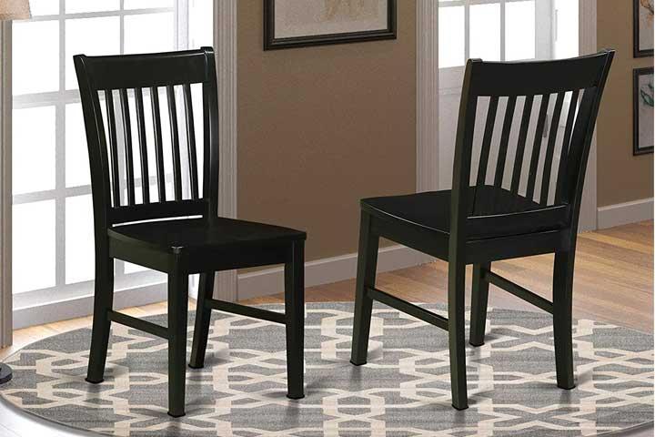 East West Furniture Norfolk Kitchen Chairs