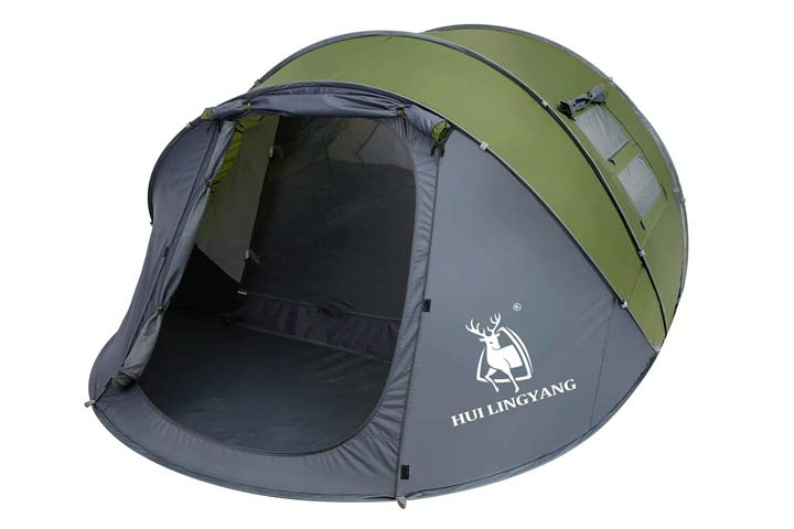 Easy Pop Up Tent by Hui Lingyang