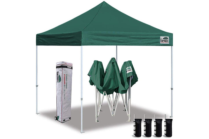 Eurmax EZ Pop Up Canopy Tent with Heavy