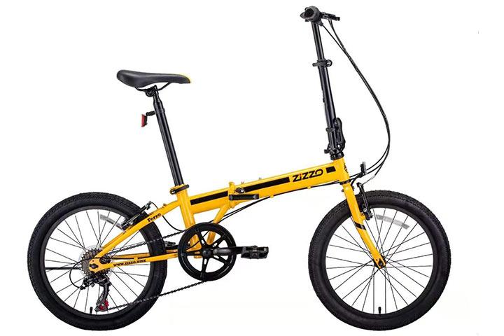 EuroMini ZiZZO Ferro 20-Inch 29lb Light Weight Folding Bike