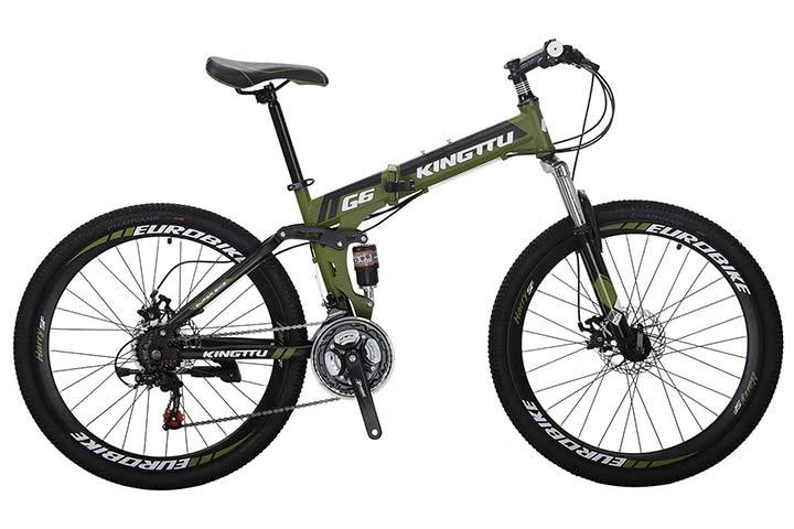 "Eurobike 26"" Full Suspension Mountain Bike"