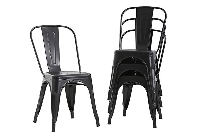 FDW Metal Dining Chairs