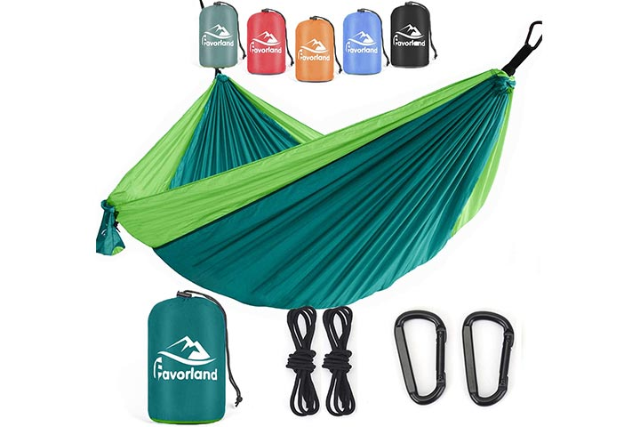 Favorland Camping Hammock Double & Single