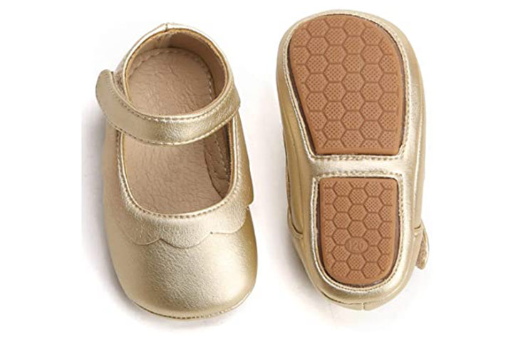 Felix & Flora Soft Sole Leather Baby Shoes