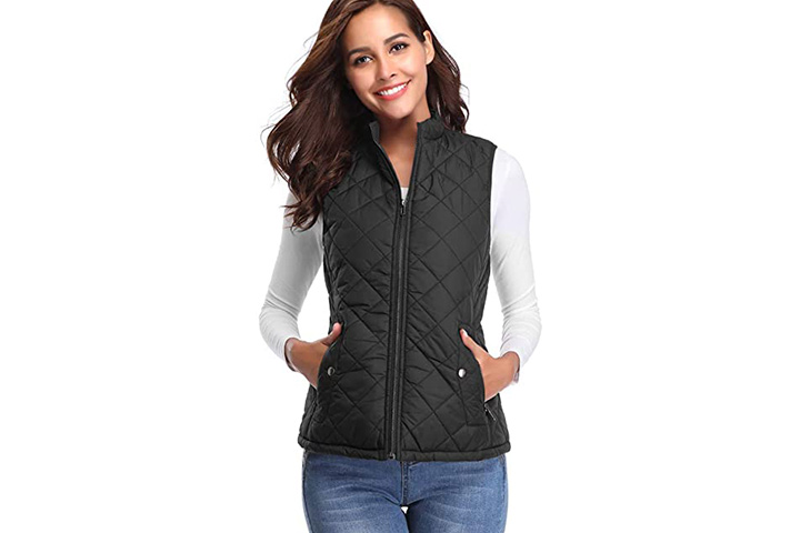 Fuinloth Women's Quilted Gilet