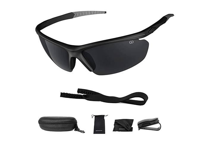 Gear District Polarized UV400 Sport Sunglasses