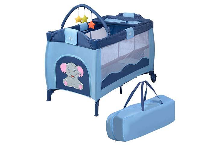Giantex Store Nursery Baby Crib Set