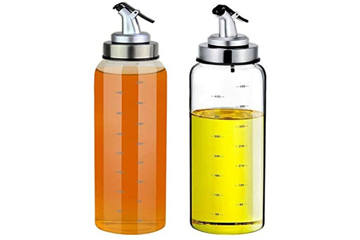 Glass Oil And Vinegar Dispenser