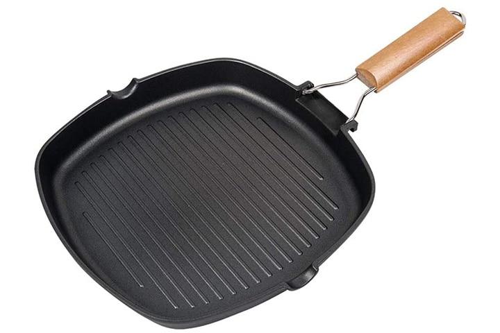 Iaxsee Carbon Steel Grill Pan