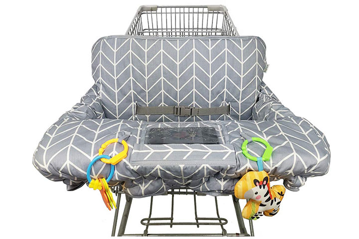 Icopuca Shopping Cart And High Chair Cover