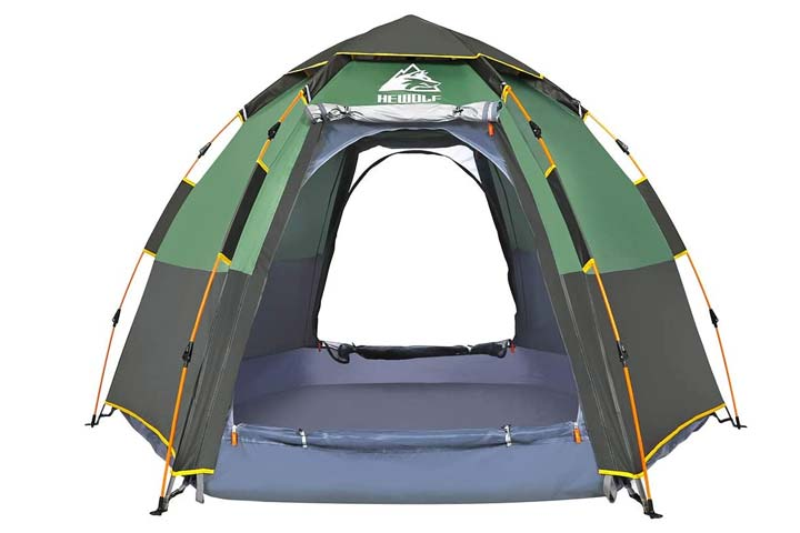 Instant Camping Tent by Hewolf