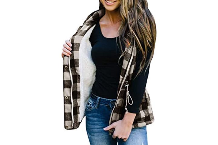 Ivay Winter Plaid Vest