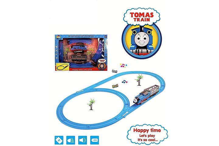 Jack Royal Battery Operated HMC Tomas Toy Train Track Set