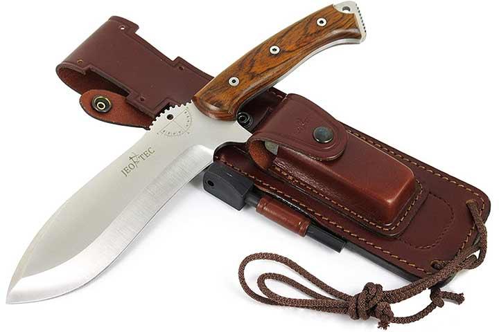 Jeo-Tec Nº55 Bushcraft Survival Hunting Camping Knife