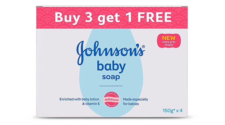 Johnson's Baby Soap For Bath