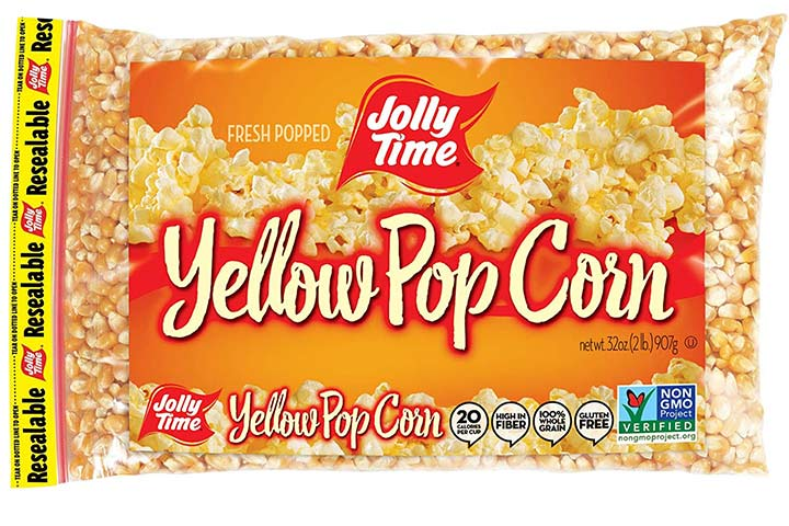 Jolly Time Yellow Popcorn Kernels