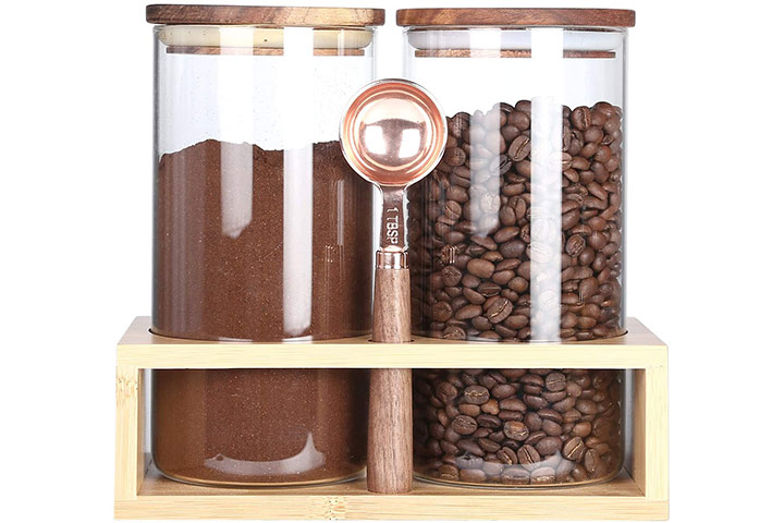 KKC Home Accents Borosilicate Coffee Container