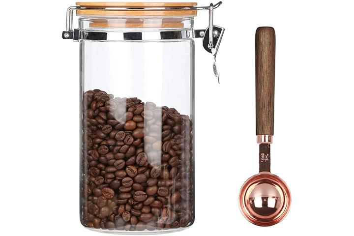 KKC Home Accents Glass Coffee Storage Container