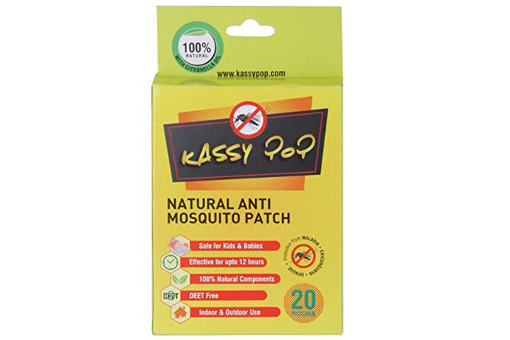 Kassy Pop Curated Just For You Natural Repellant Mosquito Patches
