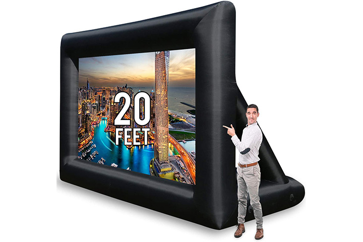 Khomo Gear Jumbo Inflatable Projector Screen