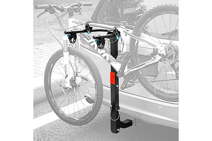 Leader Accessories Hitch Mounted Bicycle Carrier