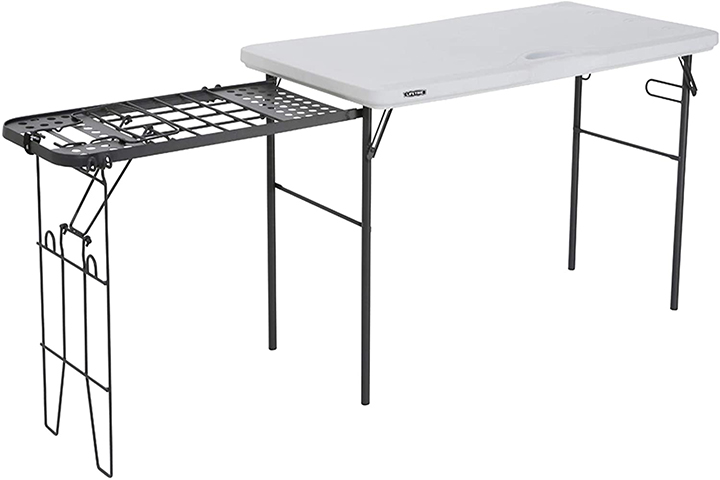 Lifetime Folding Tailgate Camp Table