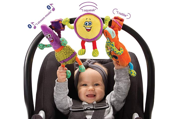 Lil' Jammerz Baby Music Toys for Car Seat or Stroller
