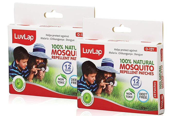 LuvLap Natural Mosquito Repellent Patch
