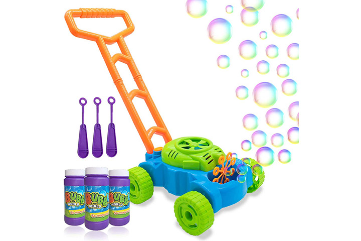 Lydaz Bubble Mower for Toddlers
