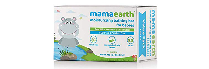 Mamaearth Moisturizing Bathing Bar Soap