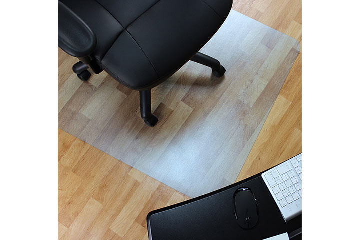 Marvelux Vinyl (PVC) Office Chair Mat for Hardwood Floors