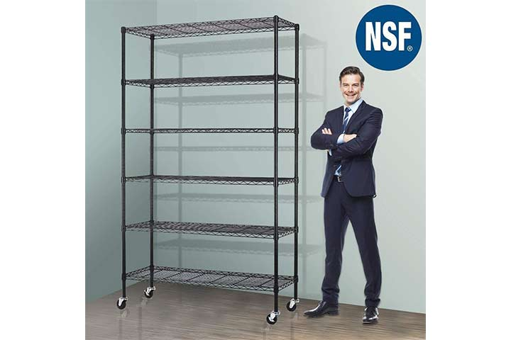 Meet Perfect Wire Shelving Unit with Wheels