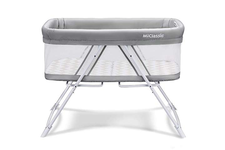 MiClassic All Mesh Portable Crib