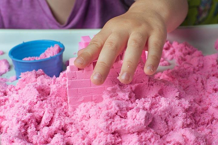 Moldable Play Sand