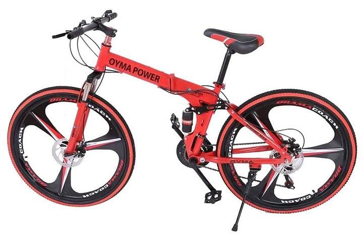 NJ508 Folding Mountain Bike