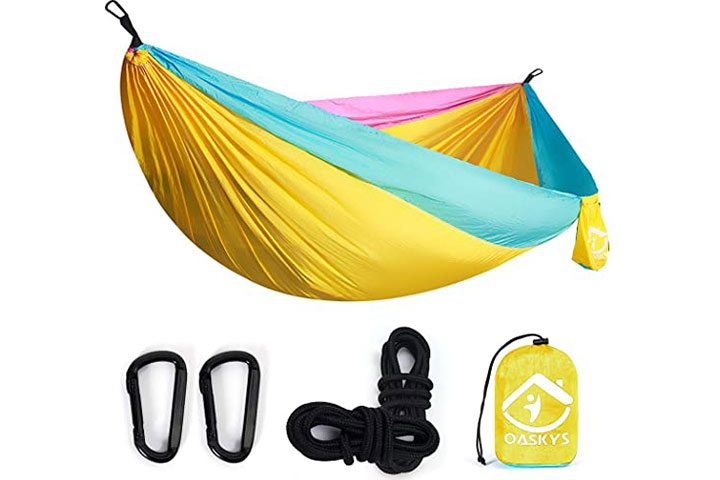 Oaskys Camping Hammock Double