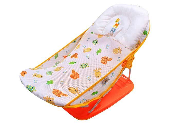 Ole Baby Mastela Seater Happy Turtle and Fish Print Baby Bath Seat