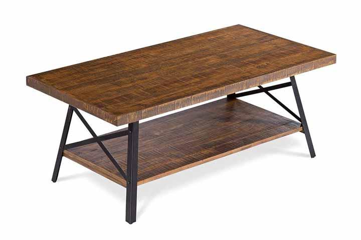 Olee Sleep Cocktail Wood Coffee Table