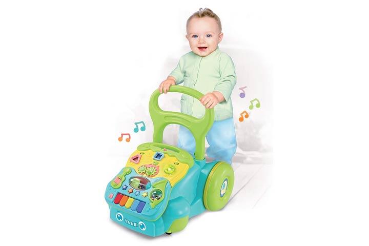 Orappal 5 in 1 Baby Push Walker for Kids