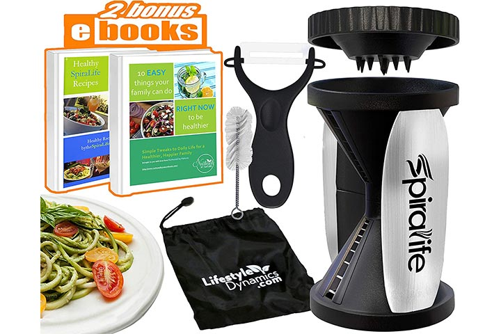 Original Spira Life Handheld Vegetable Spiralizer