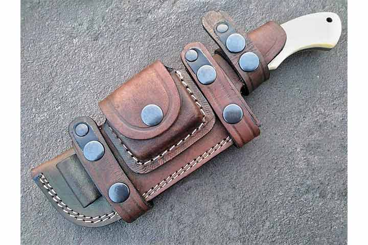 Ottoza Handmade Damascus Tracker Knife