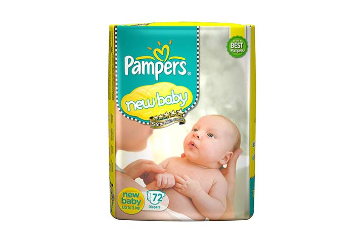 Pampers Active New Baby Diapers