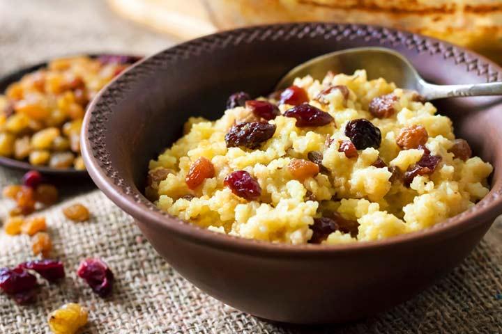 Pearl millet (bajra) porridge