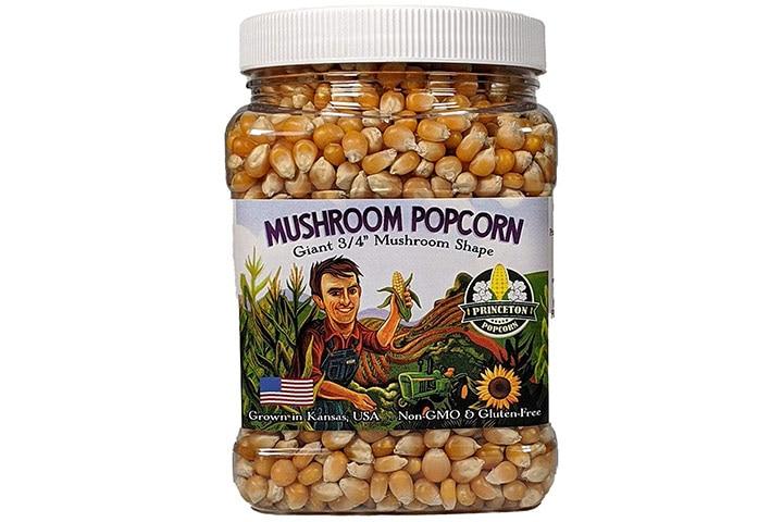 Princeton Popcorn Mushroom Popcorn Kernels